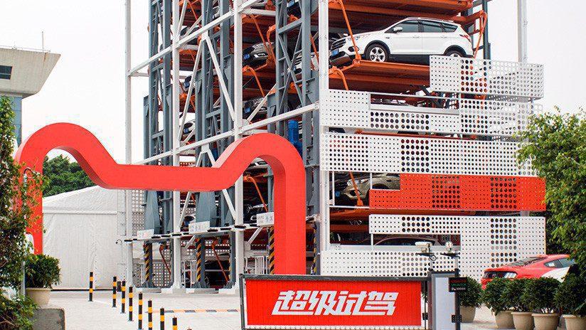 FORD INAGURÓ LA PRIMERA EXPENDEDORA DE VEHÍCULOS 2 - Ford y Alibaba lanzan la primera máquina expendedora de autos en el mundo