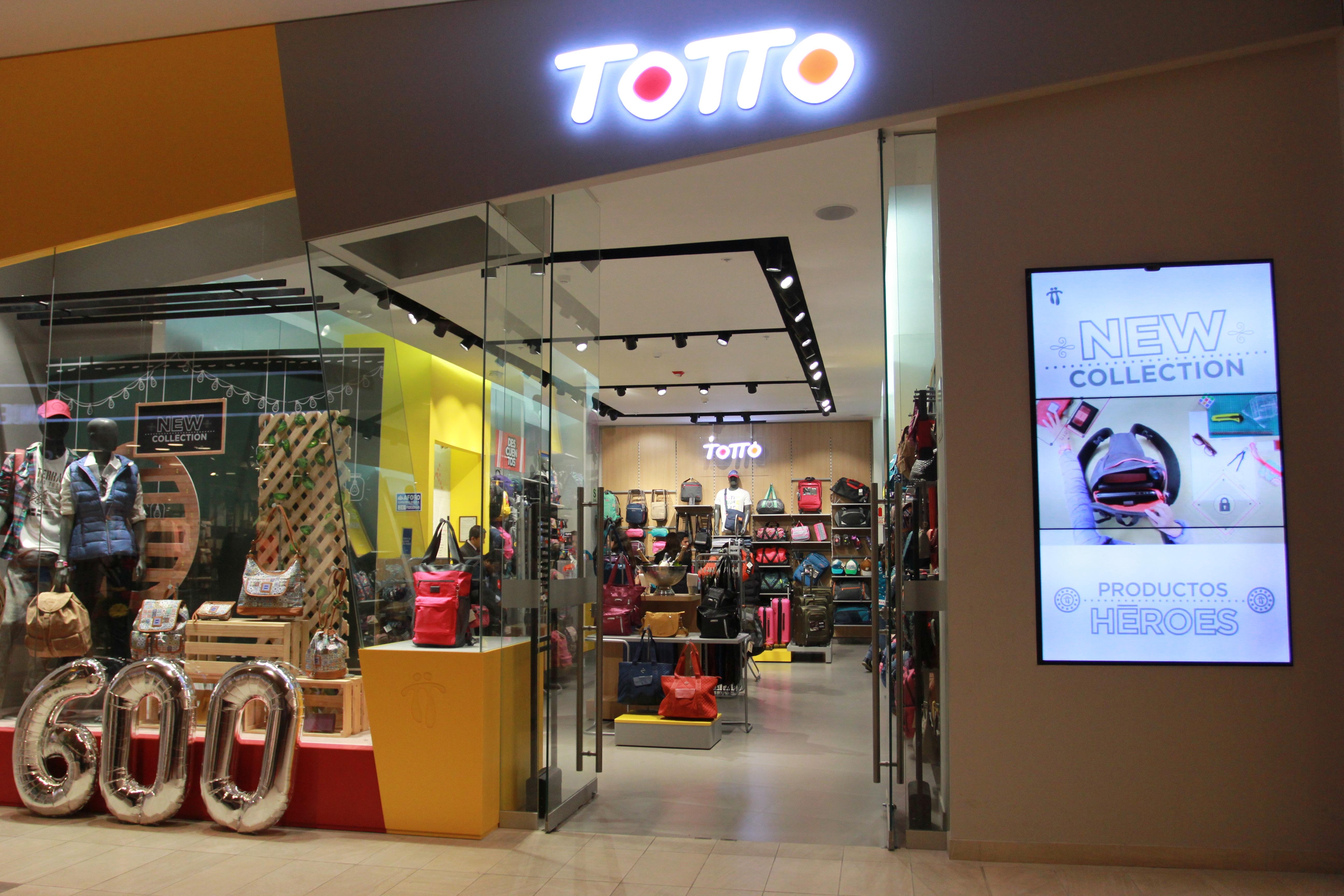 FOTTO TOTTO PRENSA - Totto inauguró en Lima su tienda número 600 a nivel mundial