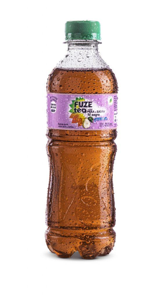 FUZE PERAySALVIA 400 ml 561x1024 - Coca-Cola ingresa a competir a la categoría de tés fríos en Perú