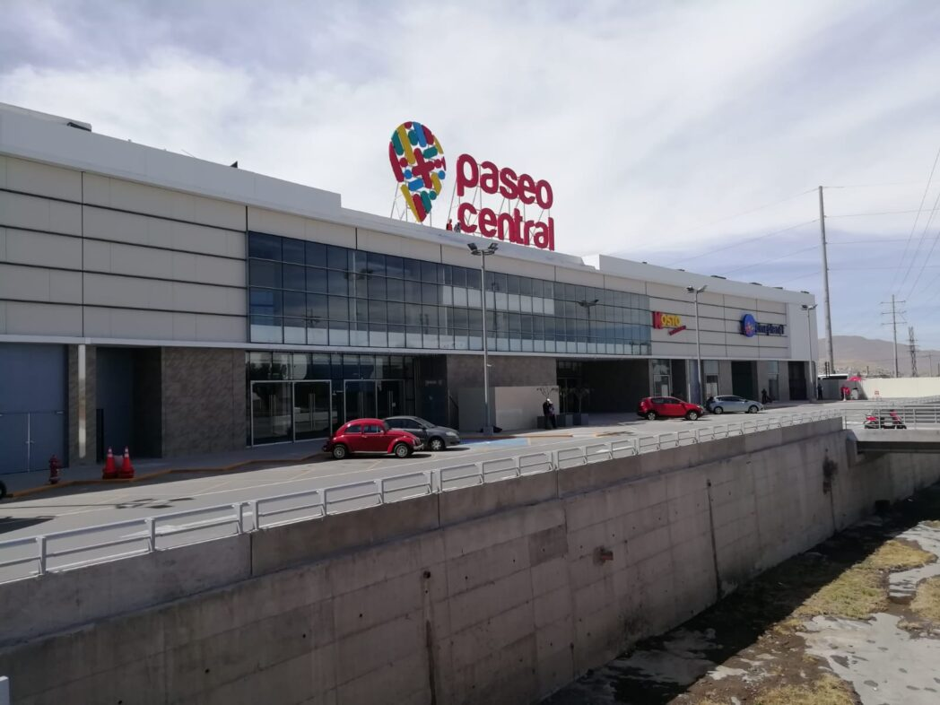 Fachada Paseo Central - Paseo Central: El primer mall de conveniencia abre sus puertas en Arequipa