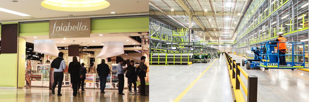 Falabella Centro Logístico 1 - ¿Cómo Falabella refuerza su logística ante la llegada de Amazon?