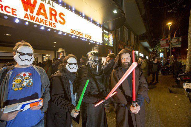 Fans de Star Wars en cines