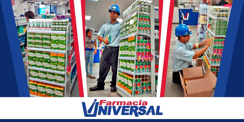 """Farmacia Universal 1 - Farmacia Universal: """"No estamos ni a favor ni en contra de la compra de Mifarma por Inkafarma"""""""