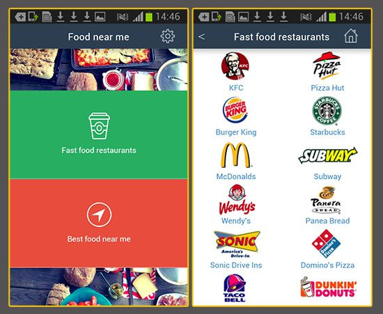 Las cadenas de fast food frente al uso de la tecnolog a en for Who can design an app for me