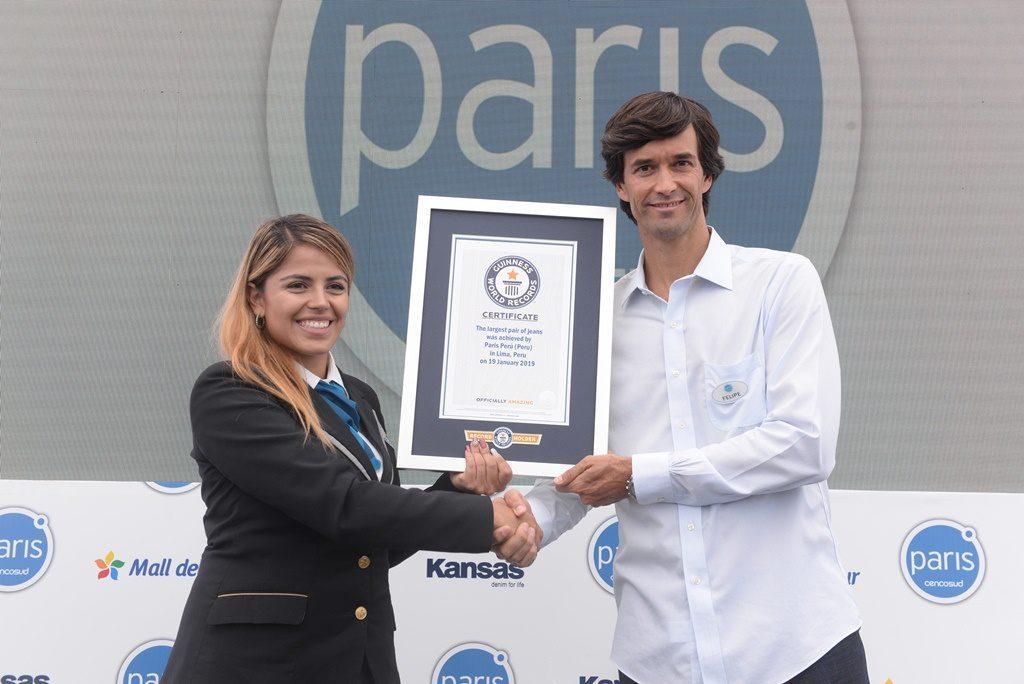 Felipe Bayly - Perú: Ventas en mismas tiendas de Paris crecieron más del 17% en 2018