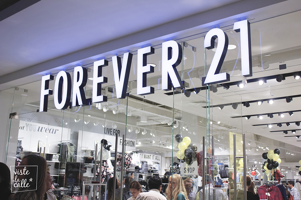 Forever 21 2 - Brasil: Forever 21 va en busca de las 40 tiendas