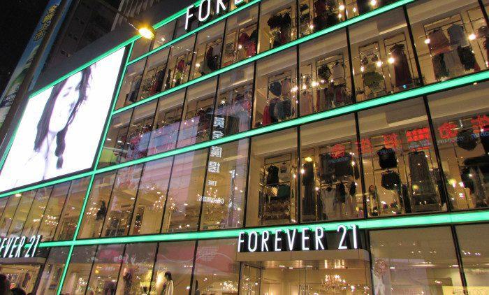 Forever 21 china - Forever 21 abre tiendas en Estados Unidos y se retira de Irlanda