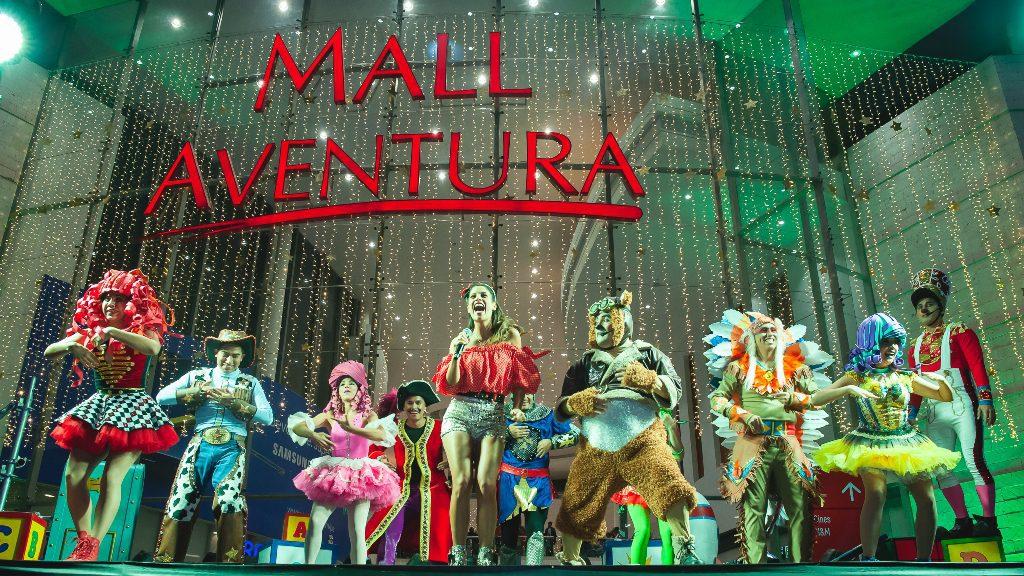 Foto María Pía - Estas son las actividades artísticas navideñas en el Mall Aventura Santa Anita