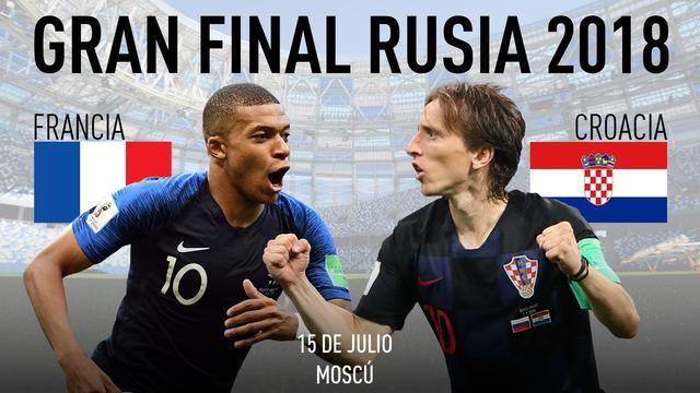 Francia vs Croacia EN VIVO Mundial 2018 Online - Las marcas que ganaron el Mundial Rusia 2018