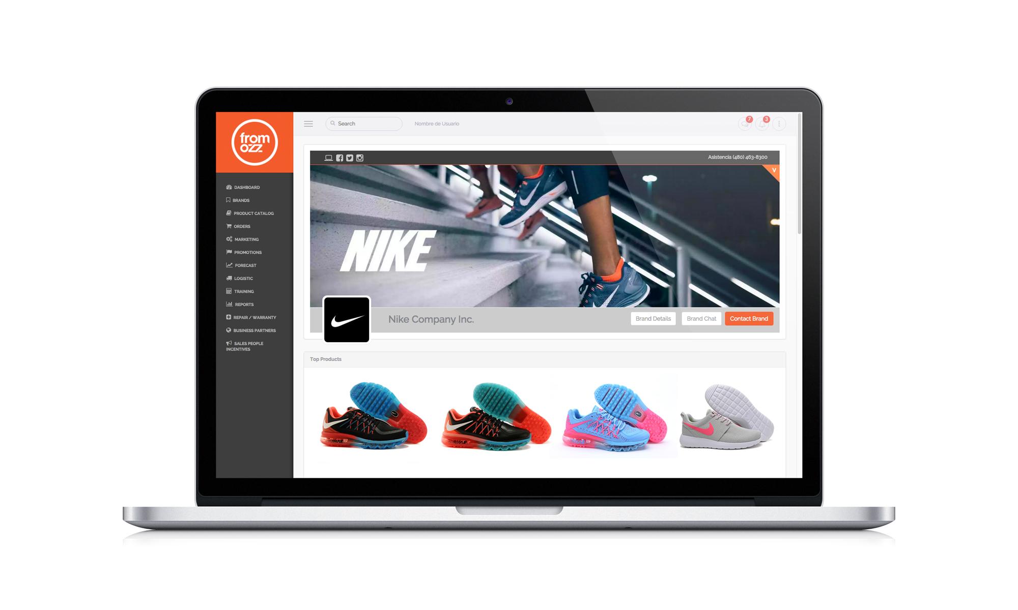 Fromozz nike - FromOzz y su nueva plataforma disruptiva reducirán costos a retailers