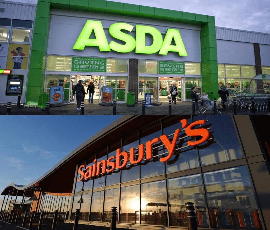 Fusión Asda y Sainsbury's