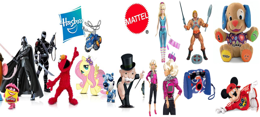 Fusion Mattel y Hasbro