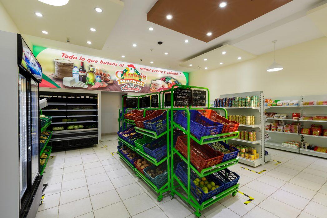 Góndolas para minimarket