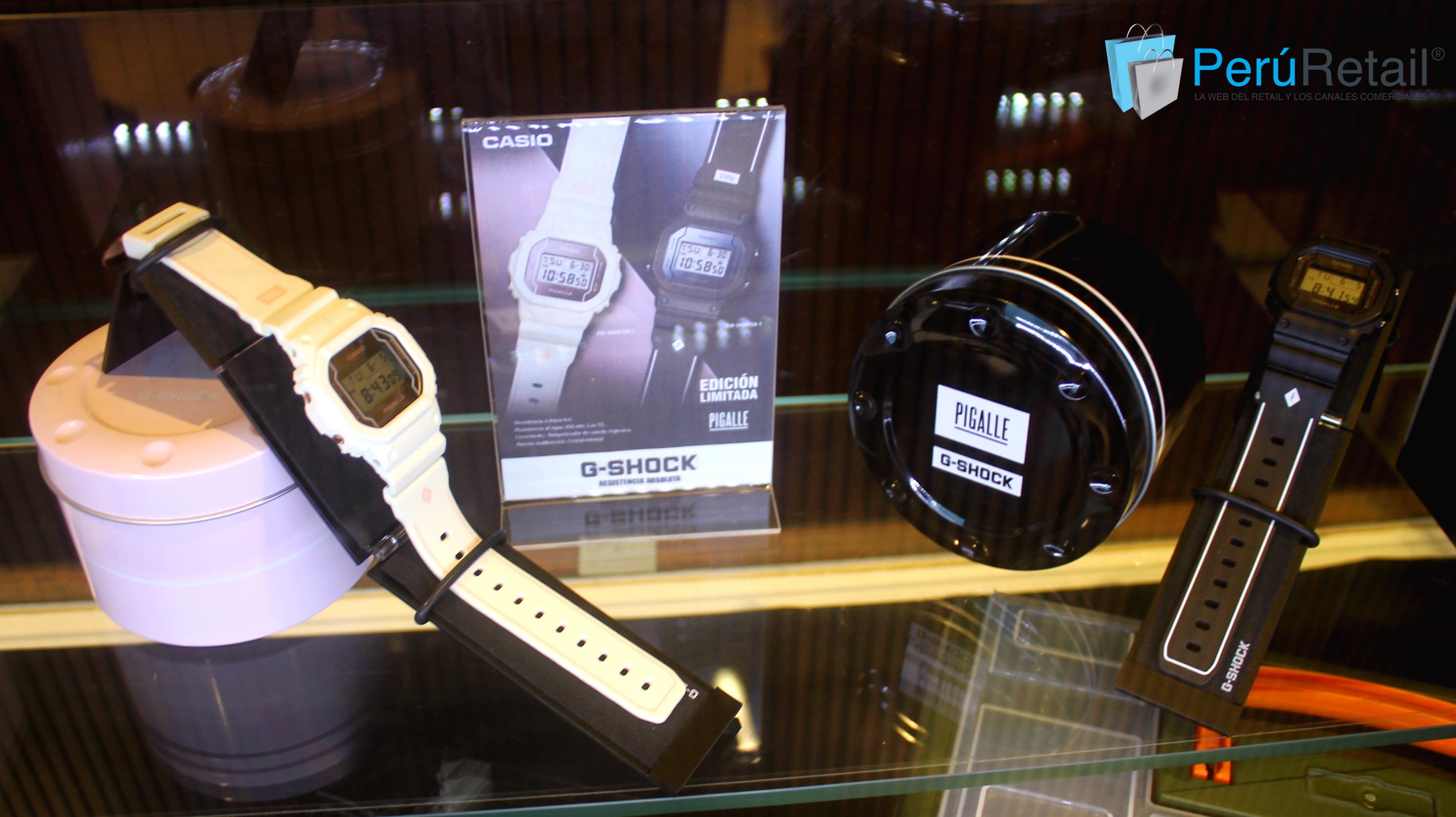 G Shock 101 Peru Retail - Perú: G–Shock celebra 35 años de innovación