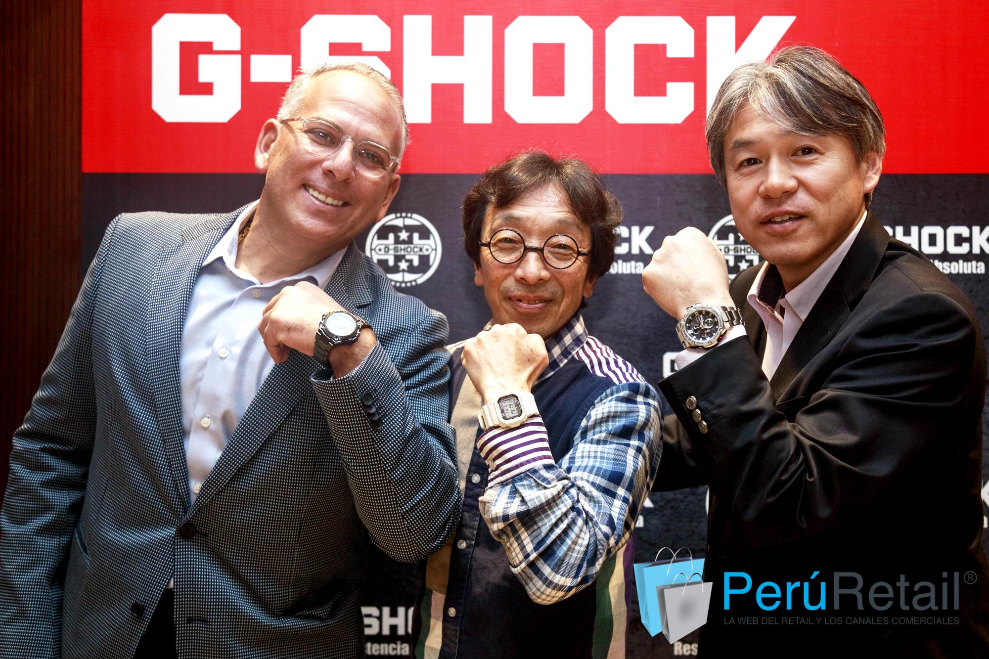 G Shock 2401 Peru Retail - Perú: G–Shock celebra 35 años de innovación