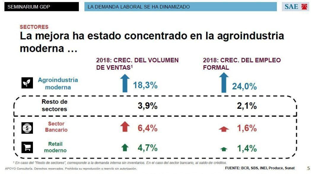 GDP 2019 - ¿Cuáles son las perspectivas del mercado laboral en el Perú?
