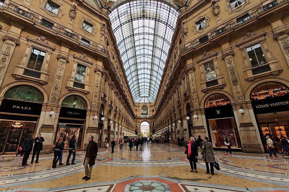 Galería Vittorio Emanuele II - Conoce las calles donde se impone el visual merchandising