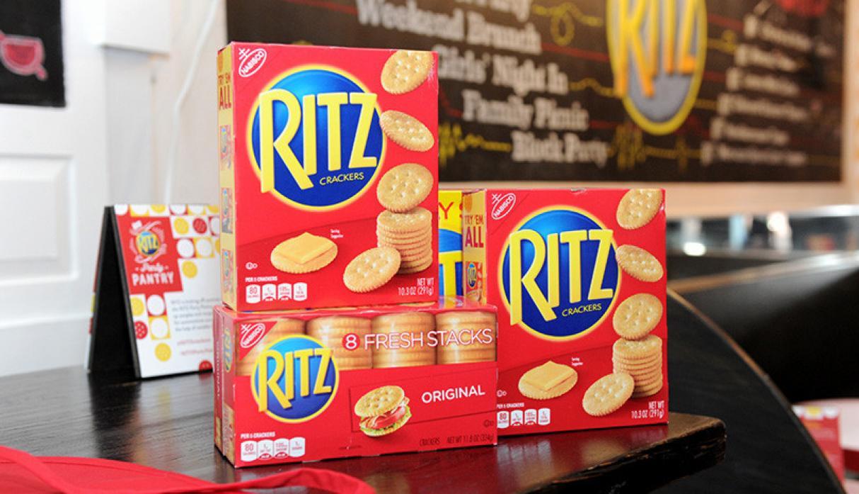 Ritz retira algunos de sus productos por preocupaciones de salmonella