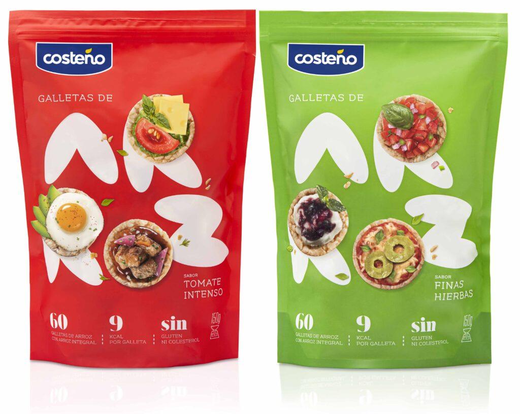Galletas de arroz Costeño Tomate intenso y finas hierbas 1024x816 - Conoce los dos nuevos sabores de las galletas de arroz de Costeño