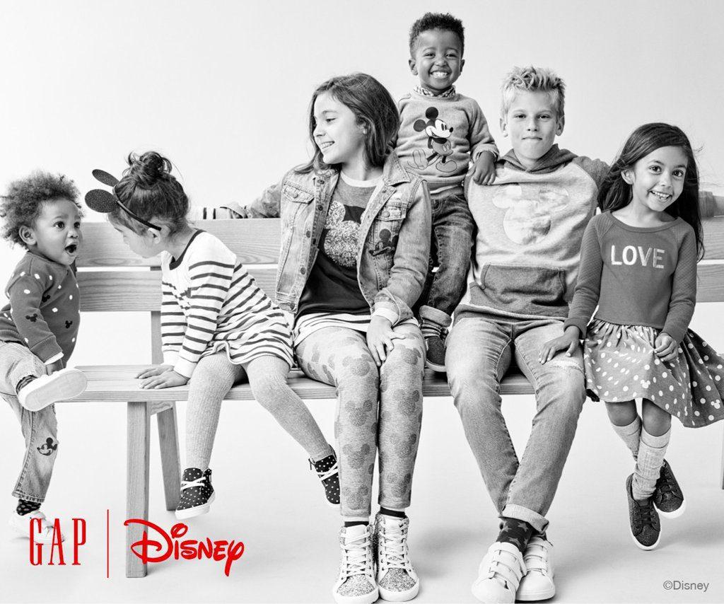 Gap Disney - GAP y Disney presentan su primera colección