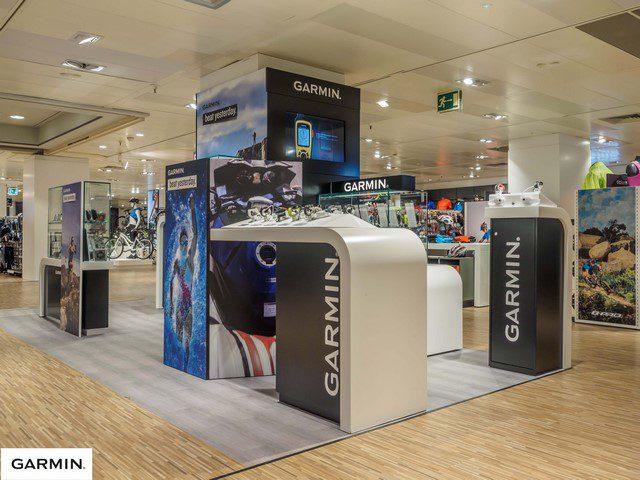 Garmin ECI Portal Angel Barcelona apertura Copiar - Garmin abre su primer punto de venta de Europa