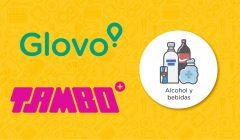 Glovo Tambo 240x140 - Tambo+ y Glovo se unen para ofrecer bebidas y snacks por delivery