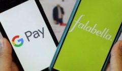 Google Pay y Falabella
