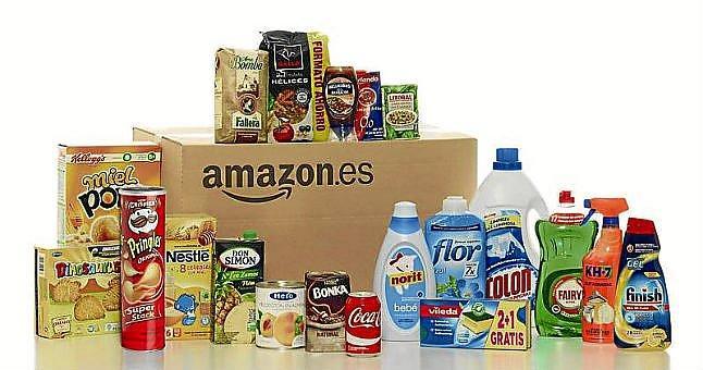 Grandes marcas de alimentación aceleran su entrada a Amazon