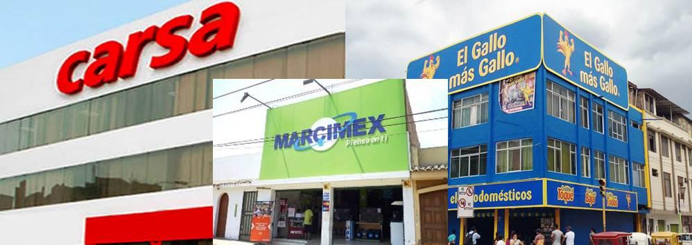 Grupo Integra Retail - Perú: Carsa, Marcimex y El Gallo más Gallo se fusionan