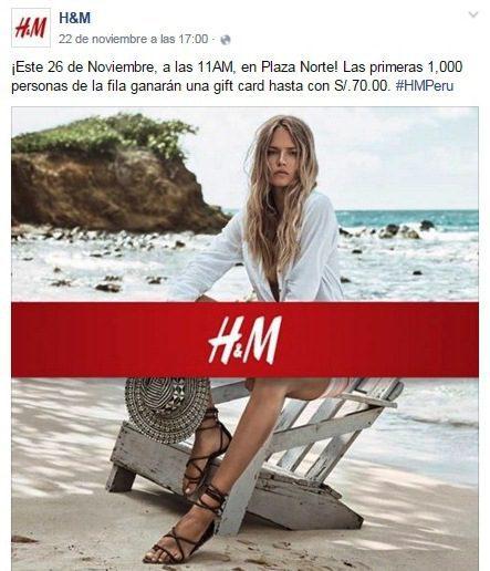 H&M Apertura