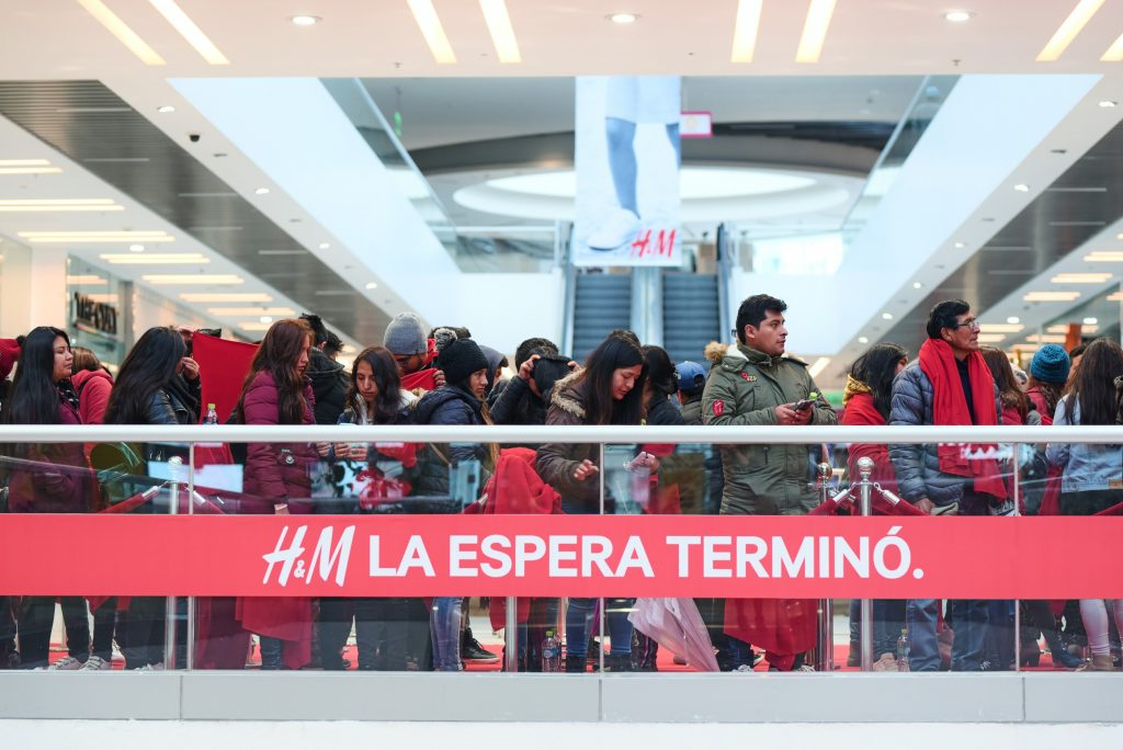 HM Perú 1 1024x684 - Ventas de H&M en América alcanzaron los US$3.165 millones en los primeros nueve meses