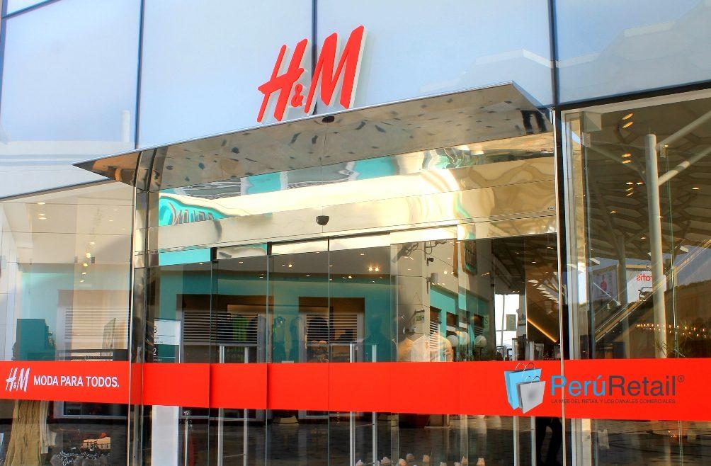 HM Peru Retail Jockey Plaza1 - H&M: Chile es el país que mayor facturación genera por tienda a nivel mundial