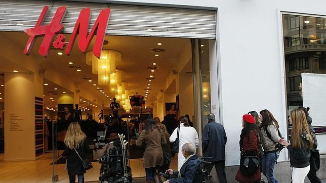 H&M centros comerciales en España