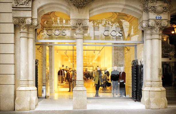 H&M planea expandir su marca de tiendas Cos en el mercado internacional