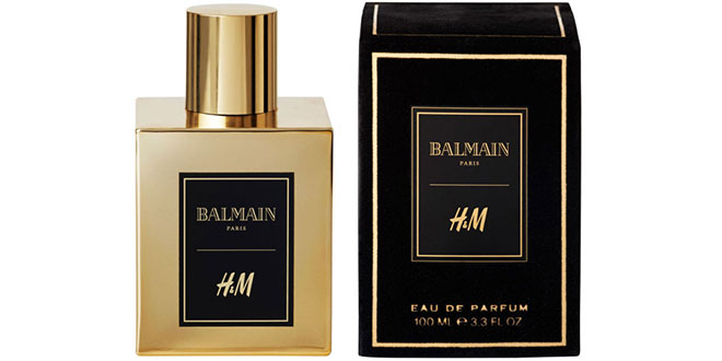 HM y Balmain perfume
