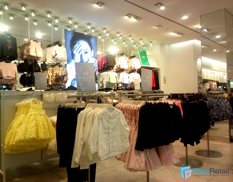 HM PERU 21 Peru Retail - H&M estrena colección Conscious Exclusive '17 en el Jockey Plaza