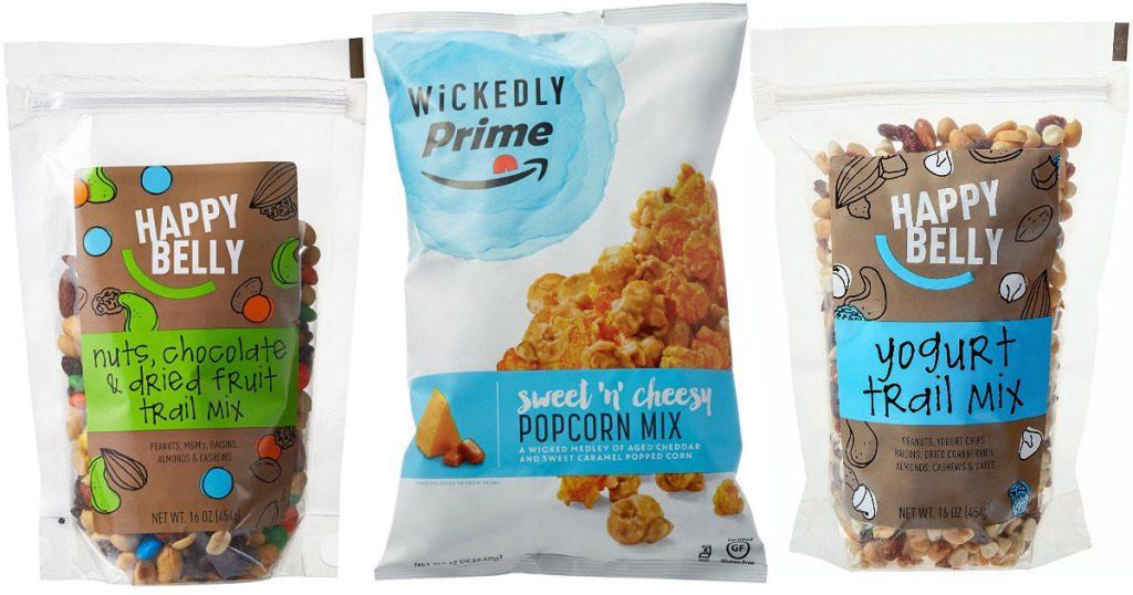 Happy Belly y Wickedly Prime amazon - Amazon lanza sus nuevas marcas blancas de alimentos