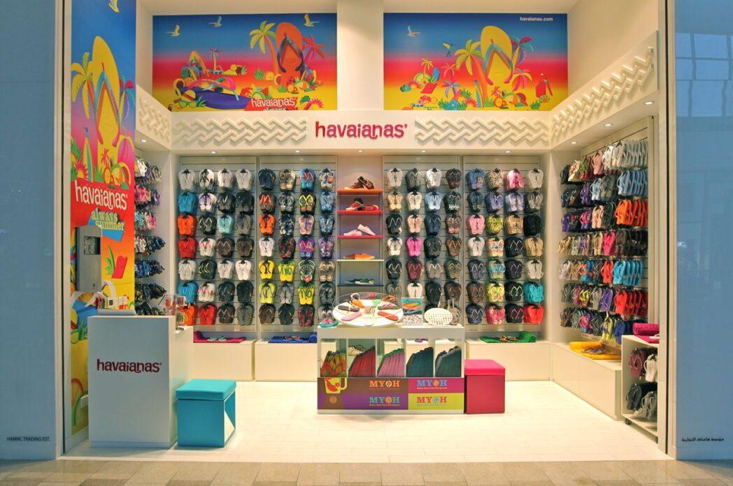 Havaianas abre su tienda más grande en Europa