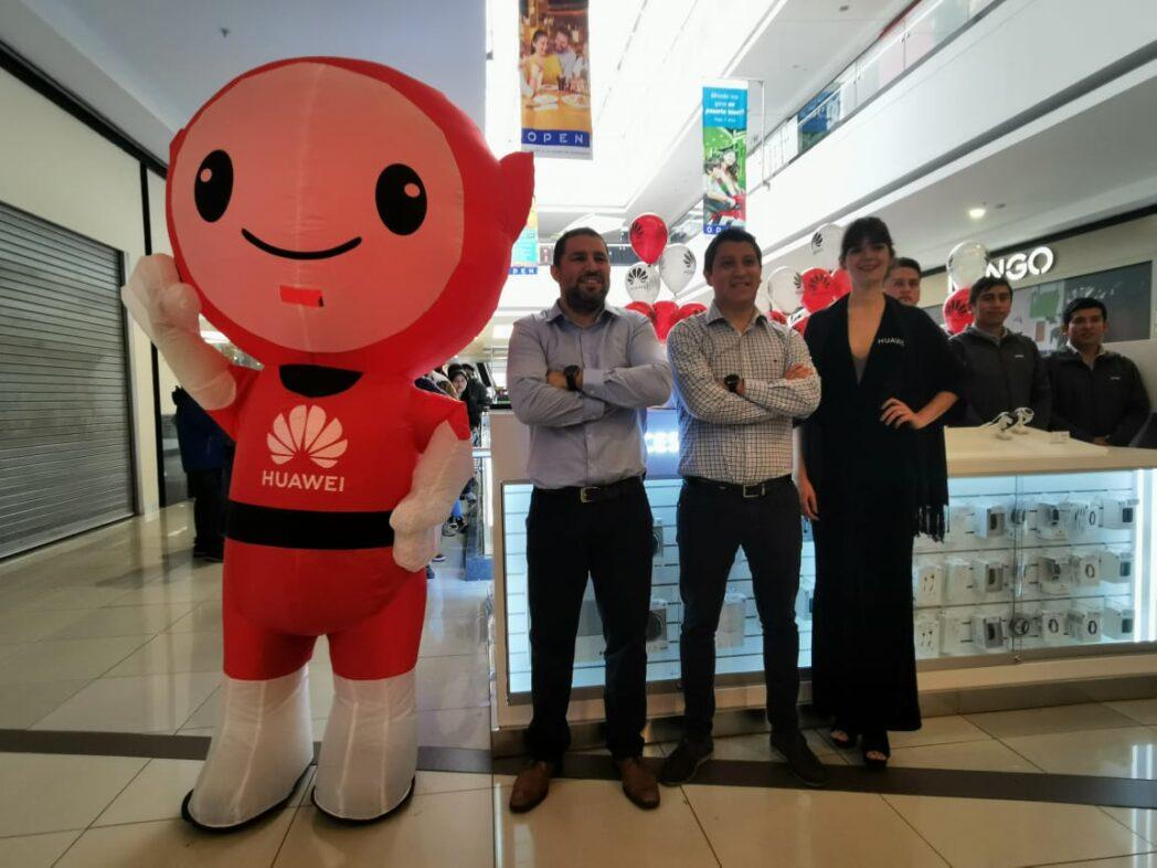 Huawei Punto de Venta y Servicio - Huawei inaugura un nuevo punto de venta en Open Plaza Angamos
