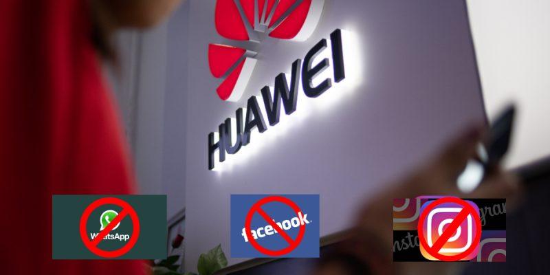 Huawei sin apps de Facebook - Celulares Huawei no tendrán preinstaladas las apps de Facebook, Instagram o Whatsapp
