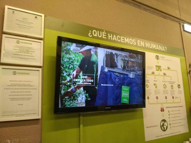 Humana españa 2 640x480 - España: La ropa de segunda está de moda gracias a Humana