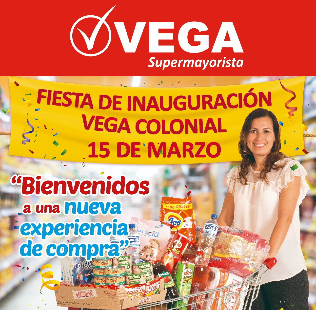 IMG 20180315 WA0013 - Vega inaugura local en Via Mix Colonial