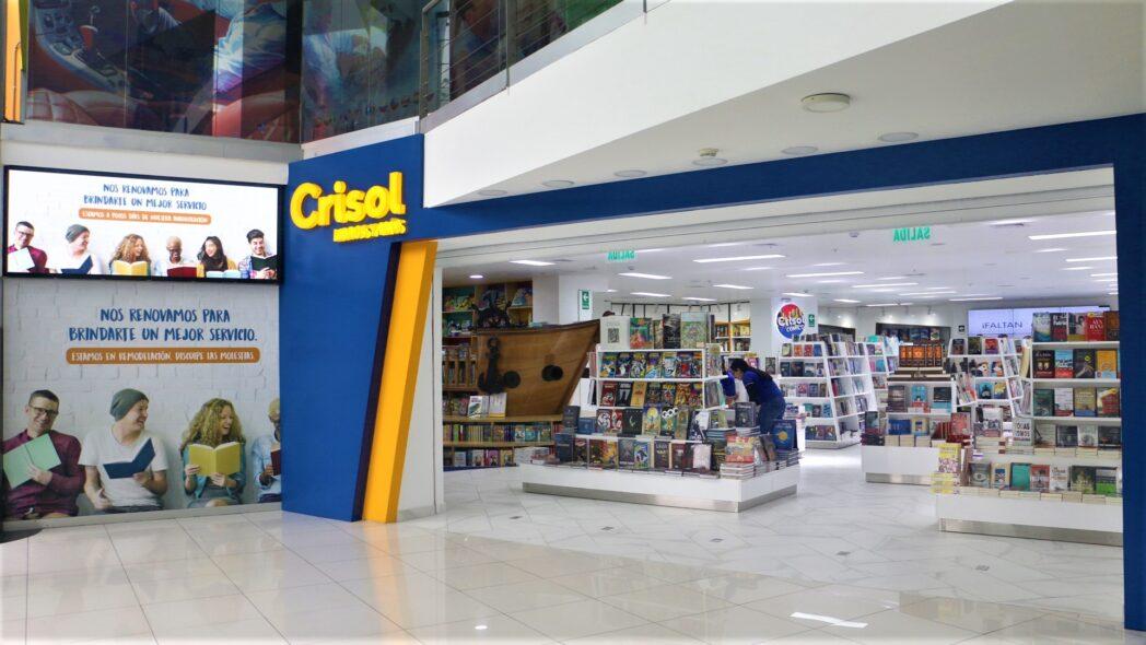 IMG 0769 - Librería Crisol del Óvalo Gutierrez apunta a ser la más moderna del Perú