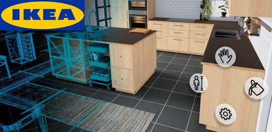 Ikea lanza aplicaci n para dise ar cocinas en realidad virtual for Aplicacion para disenar cocinas