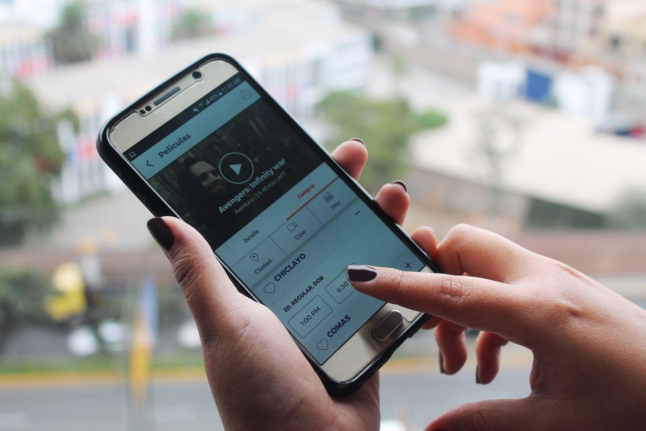 Imagen App Cineplanet - Perú: Cineplanet prevé aumentar transacciones por internet este año