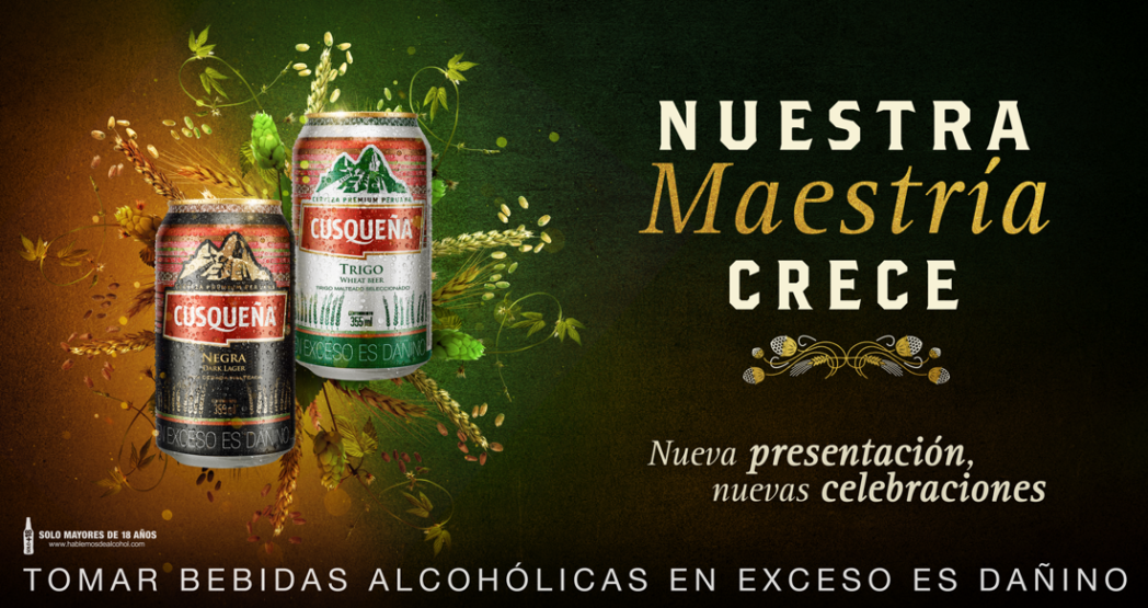 Imagen1 1 - Perú: Cuzqueña lanza dos nuevas cervezas en lata