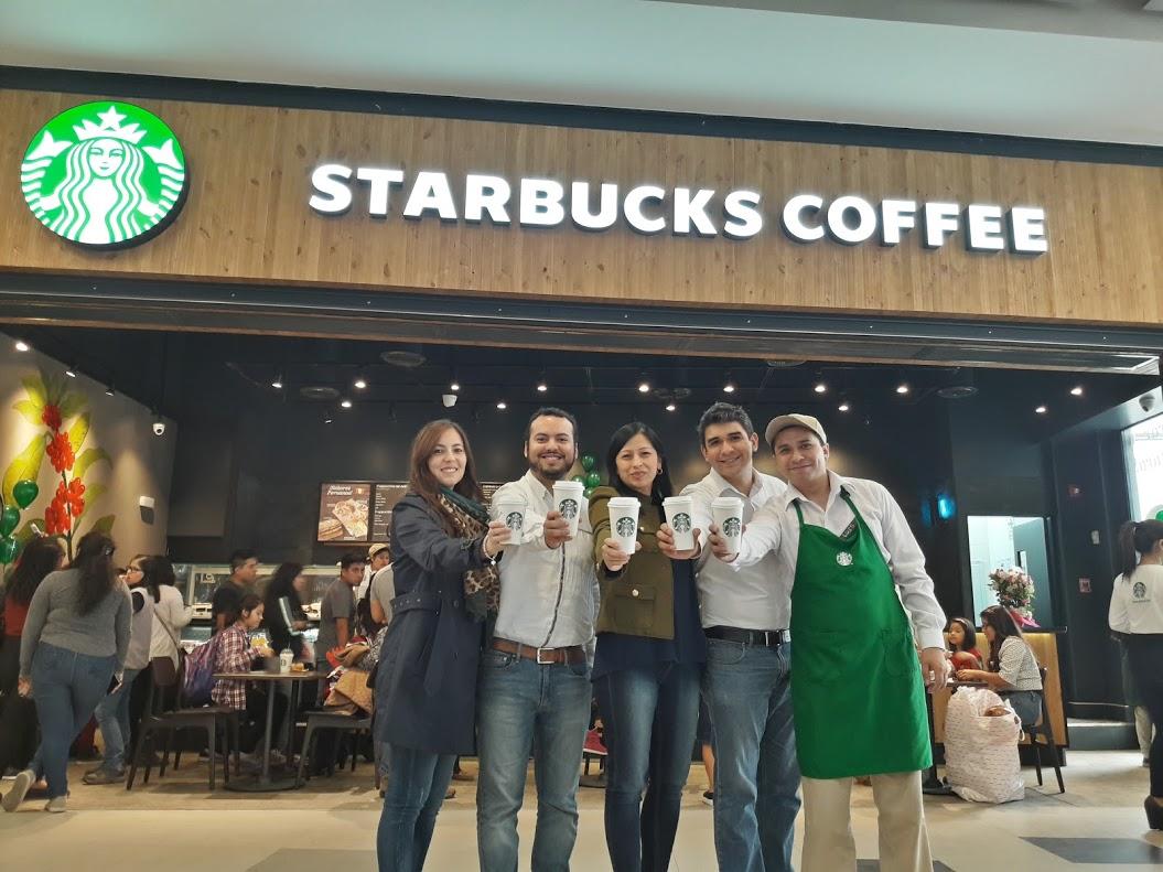 Inauguración Starbucks Villa María del Triunfo 2 - Starbucks abrió nuevo local en Real Plaza Villa María