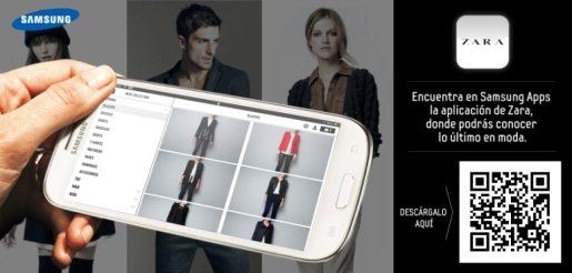 Inditex aplicación móvil