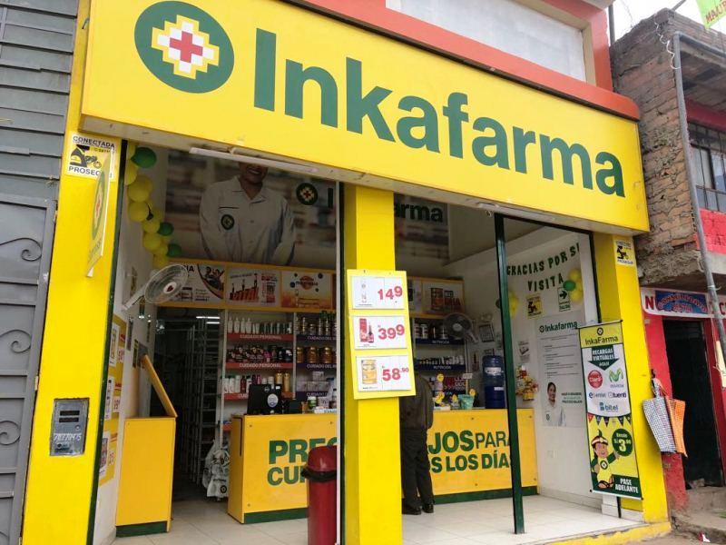 Inkafarma formato express en Paucará - Perú: InRetail avanza con Inkafarma Express para llegar a más pueblos pequeños