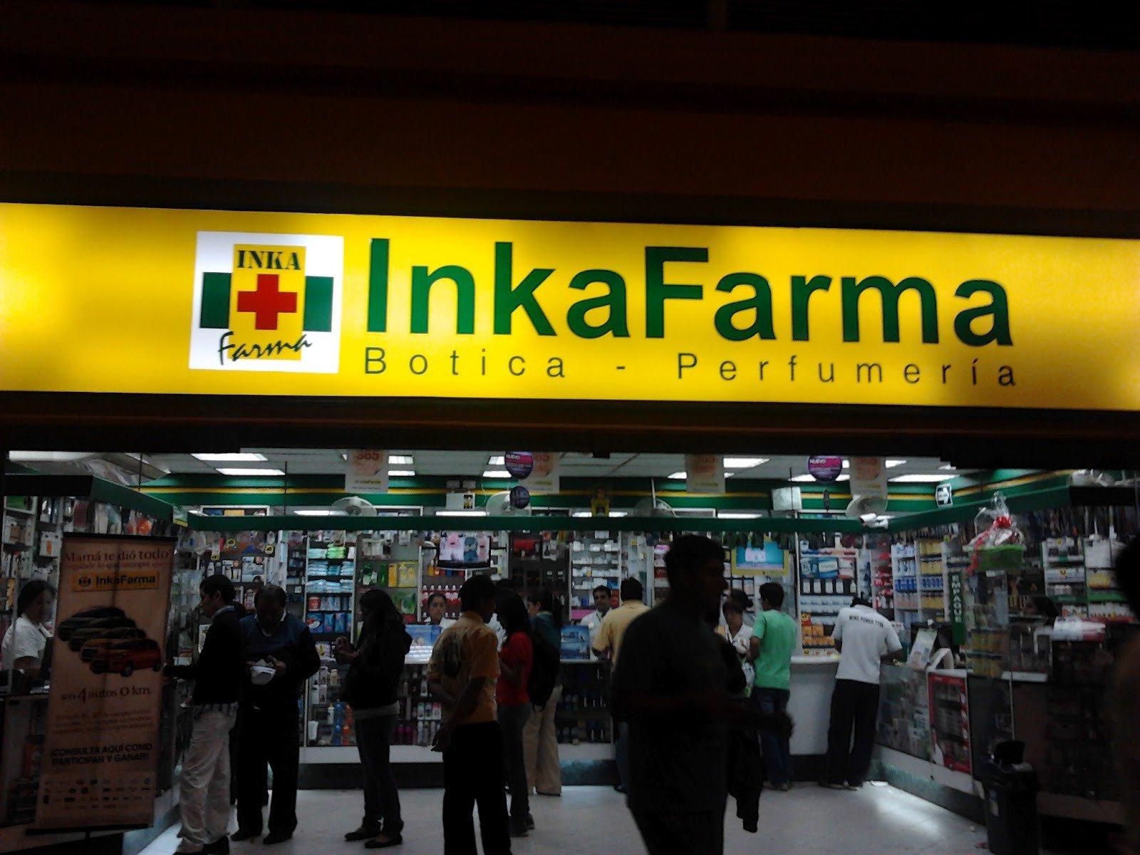 Inkafarma3 - Inkafarma evalúa cerrar locales si su rentabilidad continúa bajando